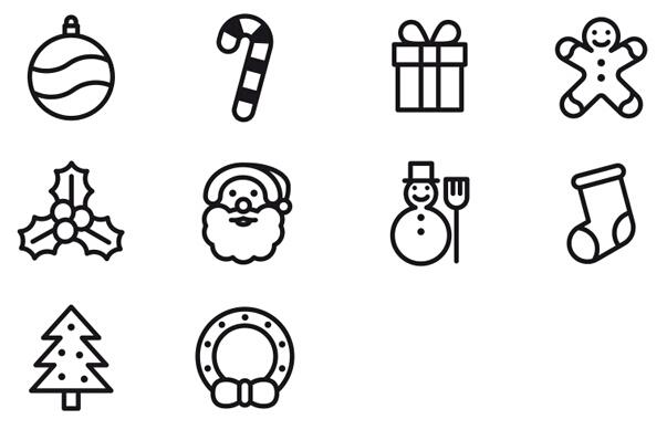 圣诞礼物怎么画 简笔画步骤