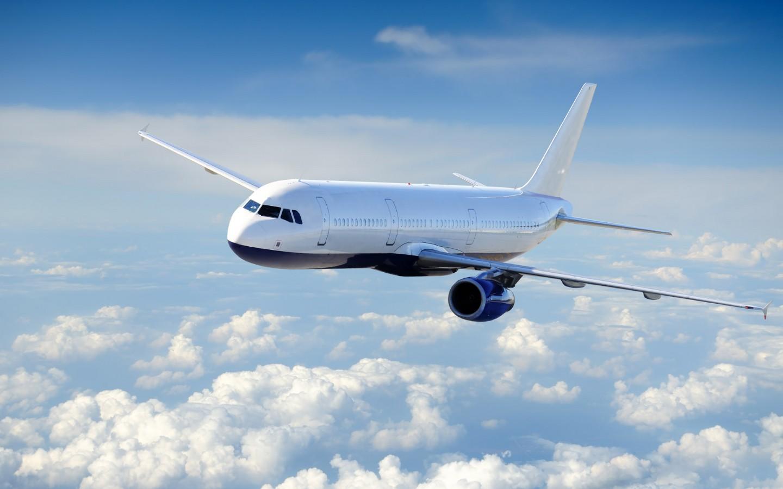 > 各国民航飞机航天蓝天拍摄高清壁纸