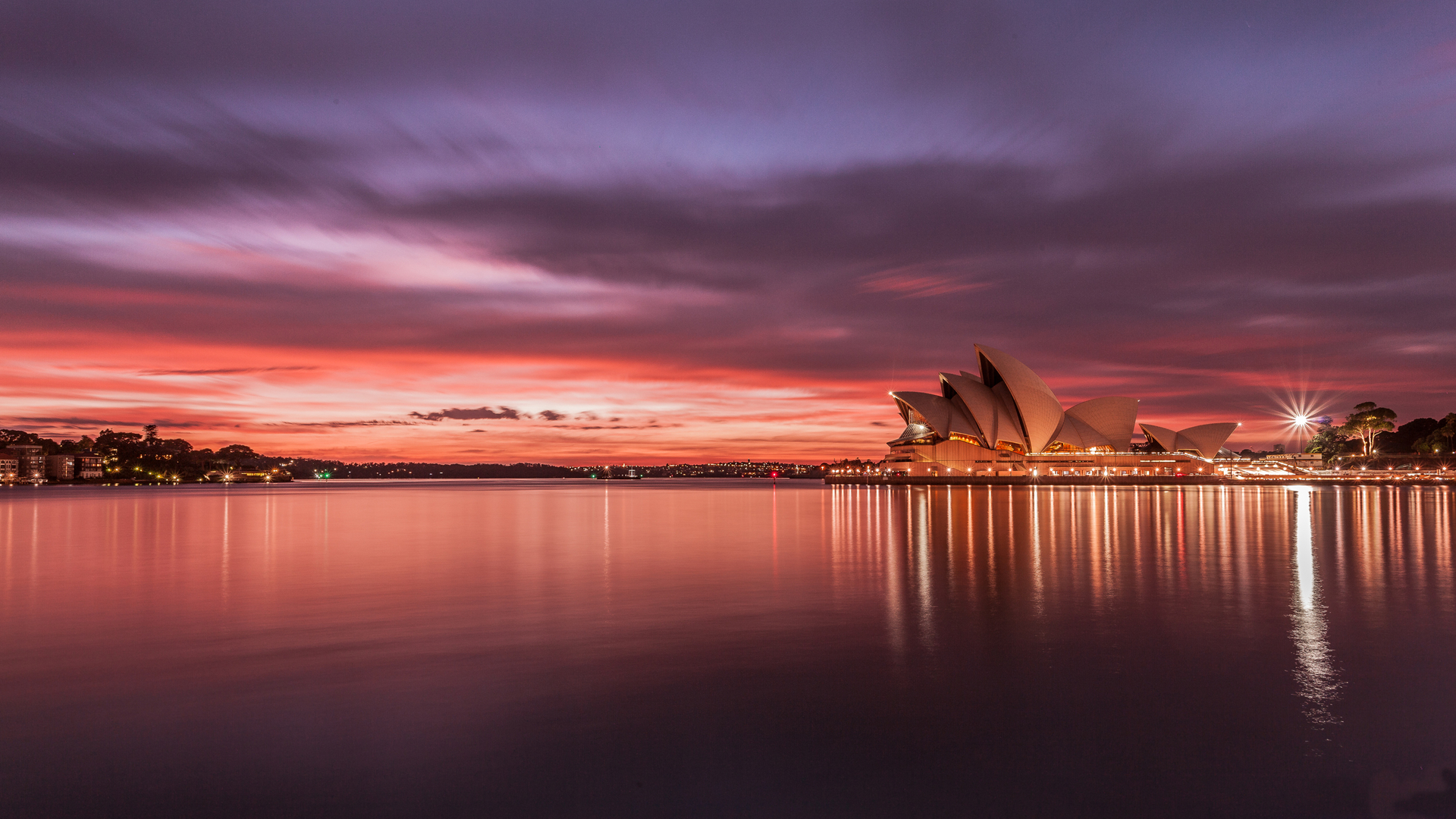 > 世界文化遗产悉尼歌剧院特色建筑电脑壁纸
